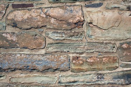 An Old rock building wall abstract background