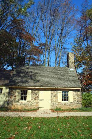 revolutionary war: A Revolutionary war Historic house in New  Stock Photo