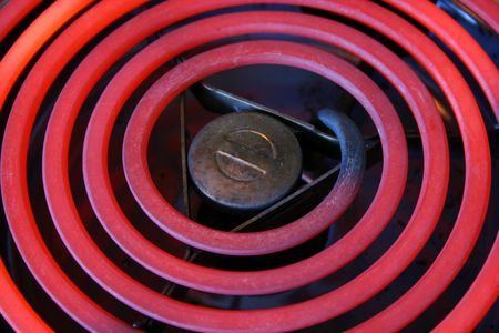 Red Hot Electric stove coils