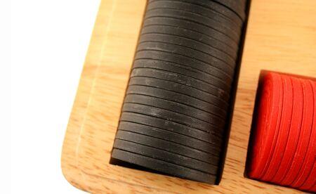 jetons poker: Rouge et Noir Poker Chips