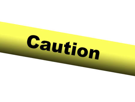 barrier: Yellow Caution Barrier Tape