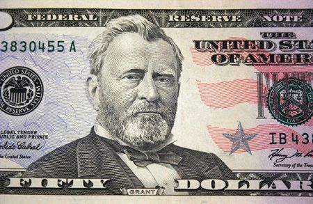fifty dollar bill: A US fifty dollar bill macro
