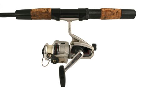 A fishing rod and reel photo