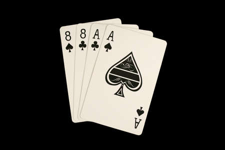 Isolated dead mans poker hand