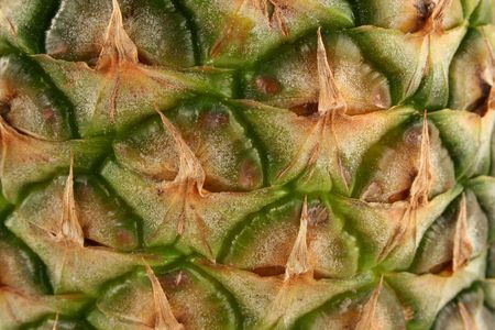 A pineapple skin macro background Stock Photo