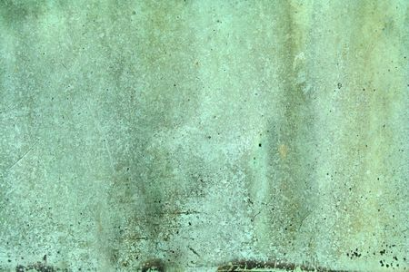 weathered: Weathered green copper background