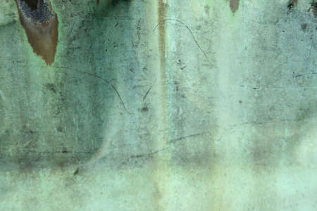 metal sheet: Weathered green copper background