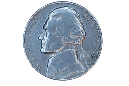 nickel: A Isolated US nickel front
