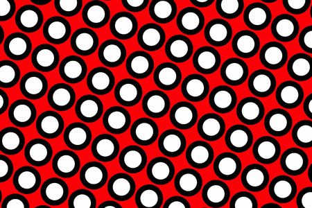 A Red polka dots abstract background