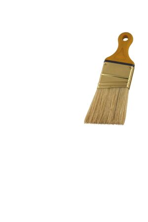 A Isolated paint brush on white