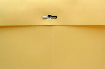 casing paper: A Manila envelope macro background Stock Photo