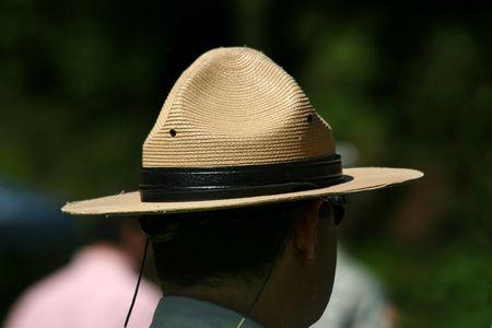 national parks: A Park rangers hat