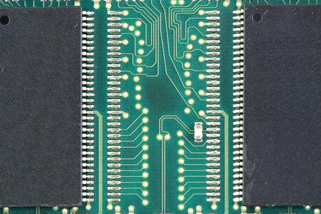 A Random access memory chip macro