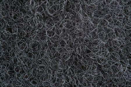 A Black velcro loop side macro background