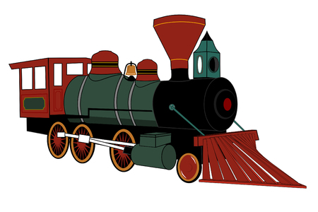 Steam locomotive Stock Vector - 4035501