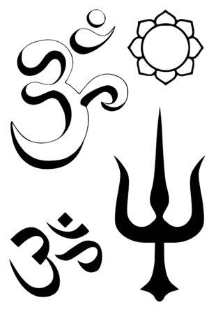 Hindu religious symbols