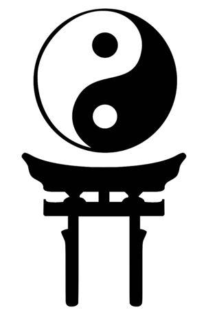 traditional culture: Shinto religious symbols