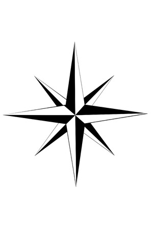 Nautical star Çizim