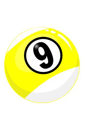The nine ball