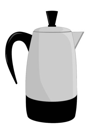 percolator: Isolated coffee percolator