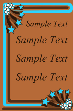 seventies: Brown and blue seventies style stationary