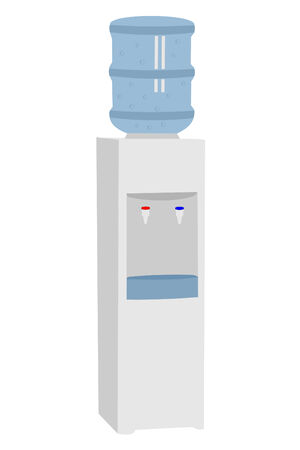 A isolated office water cooler
