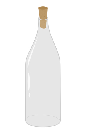 Empty glass bottle add your own contents