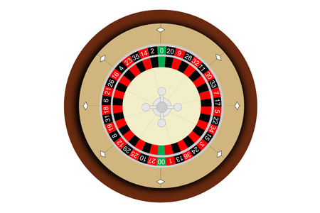 A close up of a roulette wheel Stock Vector - 4657435