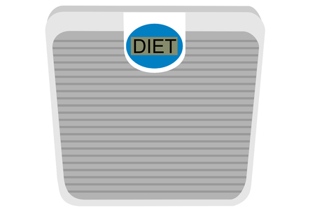 A isolated diet scale