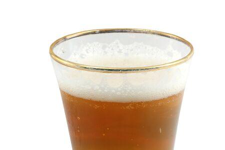 pilsner: Un vaso de Pilsen aislados de cerveza Foto de archivo