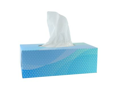 A isolated box of tissues