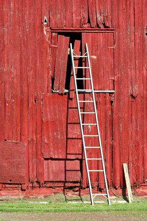 rungs: Una escalera en un antiguo Bardo rojo