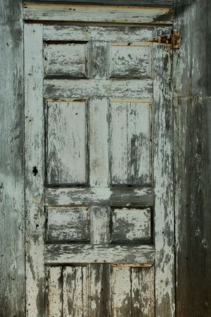 A old weathered door background