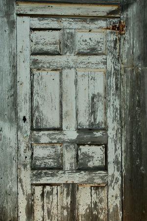 Een oude weathered deur achtergrond