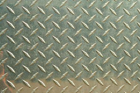 diamondplate: Uno sfondo di diamondplate in alluminio Archivio Fotografico