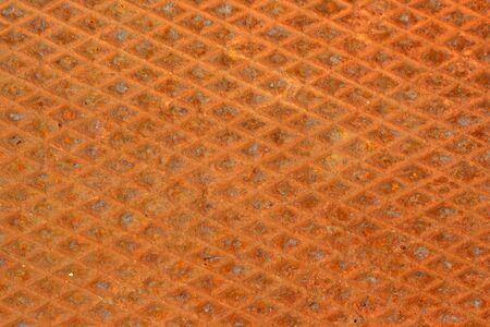 diamondplate: A Rusty diamondplate background texture Stock Photo
