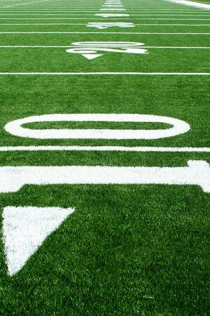 A football field