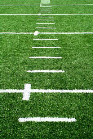 A football field photo