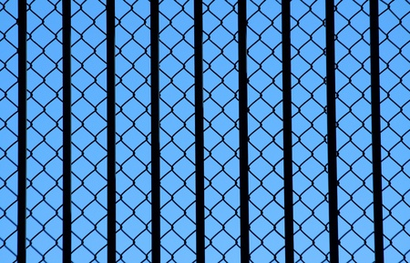 chainlink: A Chainlink fence background texture