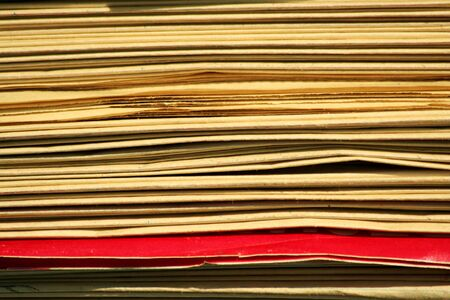 A Stacks of newspapers background Stock Photo - 9745590