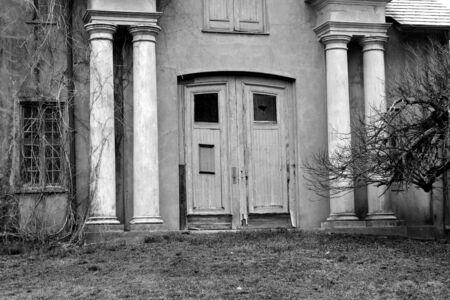 古いコンクリートの建物イメージ