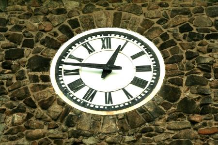 古い建物の時計 写真素材 - 14095241