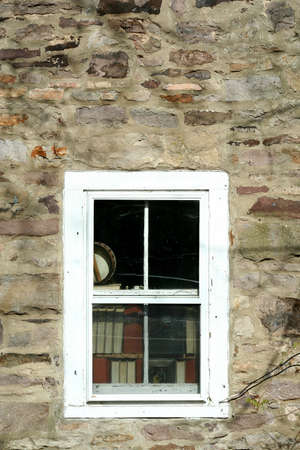 Old window with books image Imagens