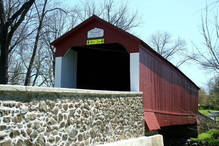 Van Sandt covered bridge in PA