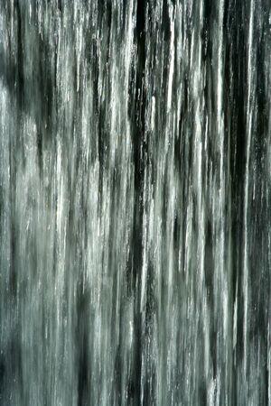 流れる滝の背景画像 写真素材 - 14596148