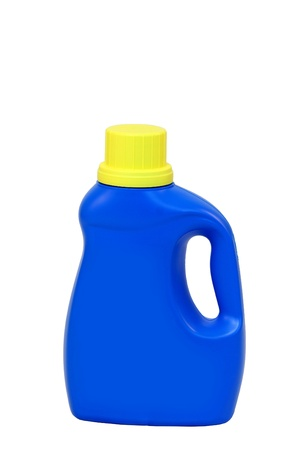 a isolated Laundry detergent bottle