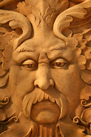 A は像の顔のクローズ アップ 写真素材 - 20011143