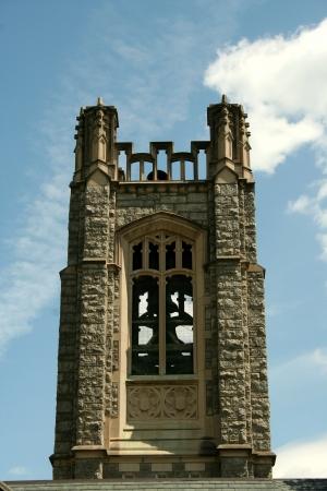 青空と教会の鐘楼 写真素材 - 20011205