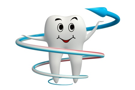 Tooth fluoride protection icon isolated Stock Photo - 11688398