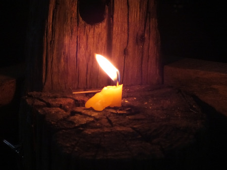 Candle in the Darkness photo